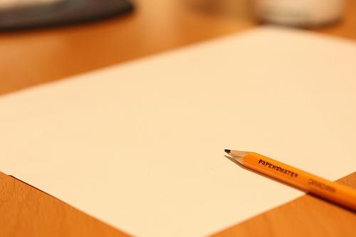 紙に書き出す