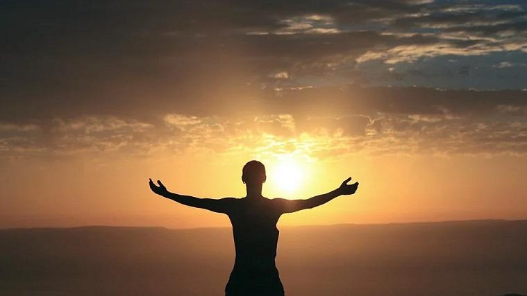 太陽、幸福、ポジティブ