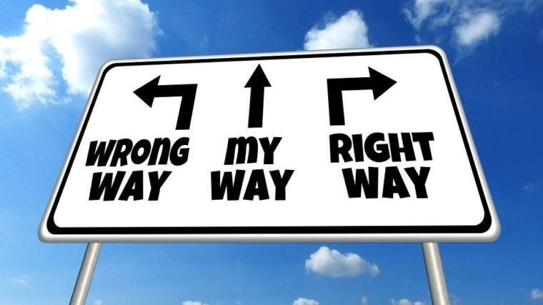 方向、道筋、道路