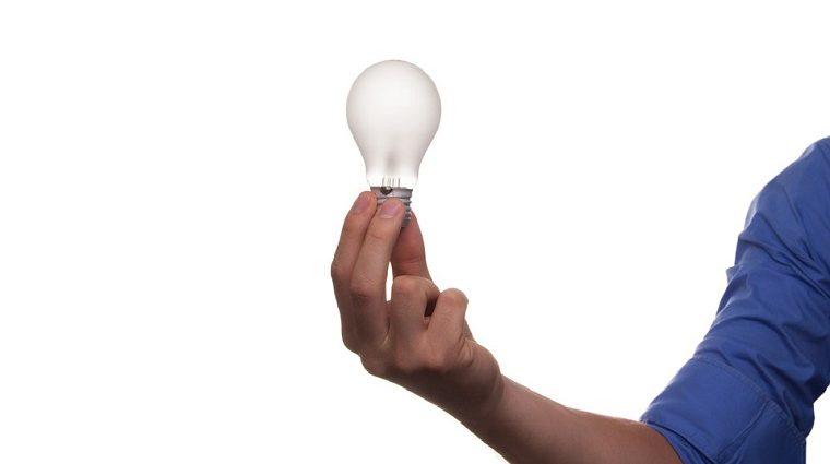 ランプ、電気、アイディア