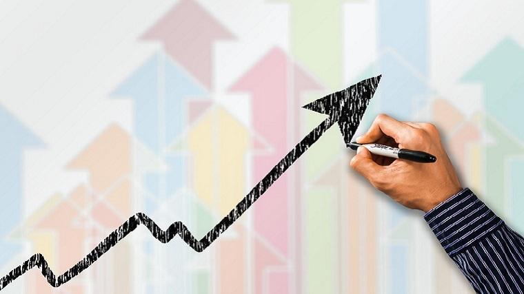 ビジネス、売上、収益、成長