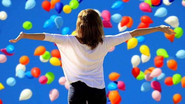 幸せ、解放