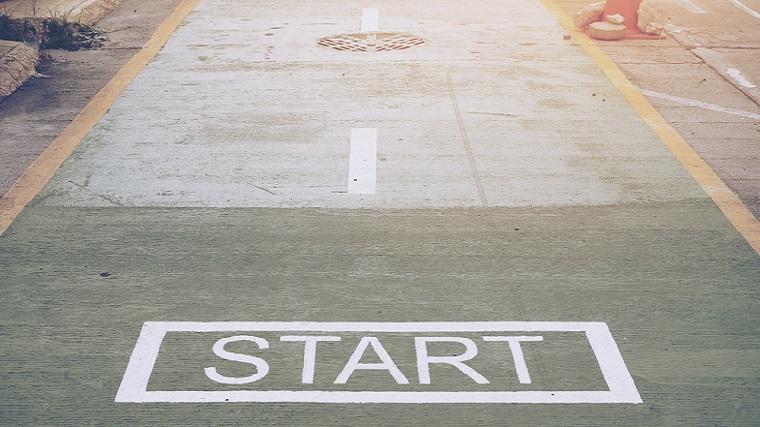 スタート、開始、始める