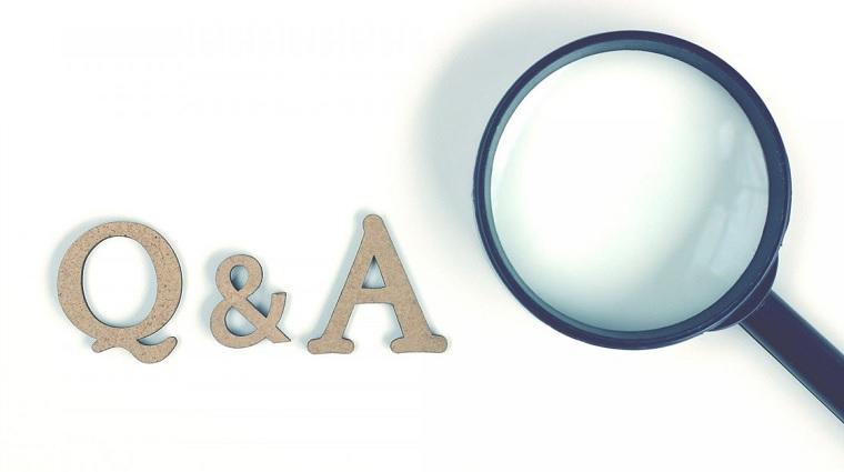 Q&A、質問と回答