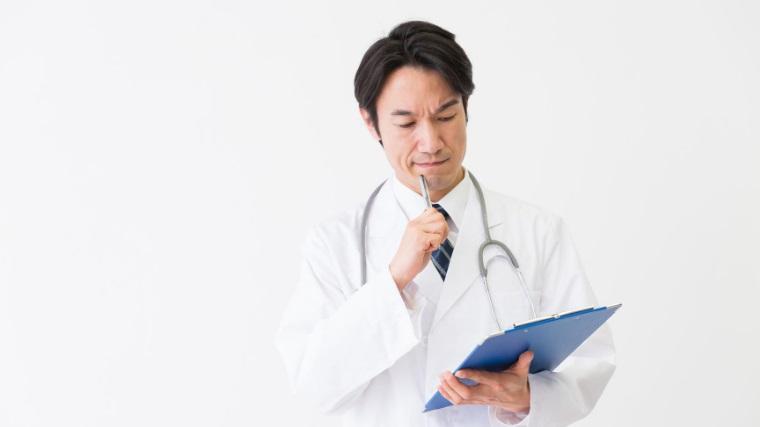 問診票、診察、検査、診断