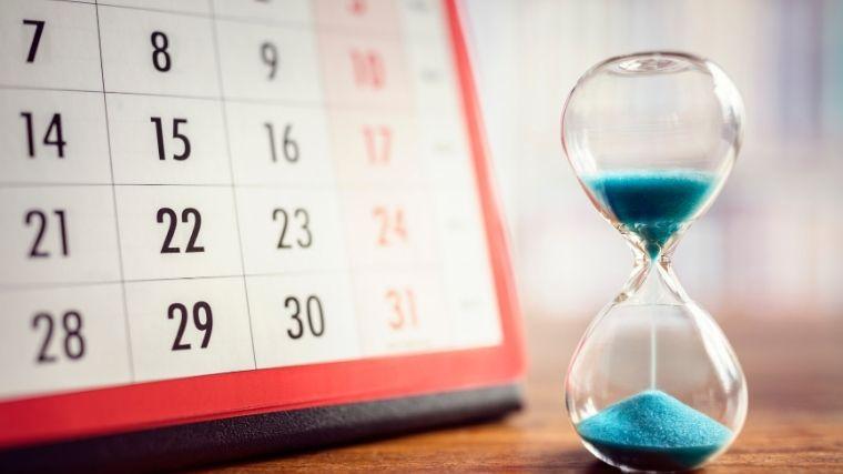 カレンダー、時間、スケジュール